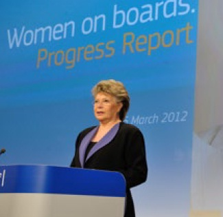 European Commission's Vice President Viviane Reding